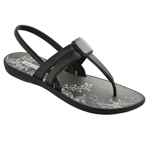 Ipanema Premium Exclusive Flip Flops T-Strap Sandals in Gold /& Silver