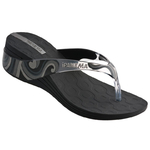 Ipanema Shine Fem wedge - black/clear