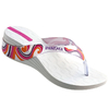 Ipanema Shine wedge Fem - white/clear