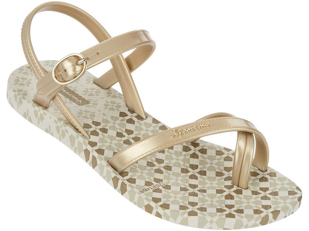 Ipanema Fashion Sandalen Kinder - beige gold - Was Schickes d30a57d41181