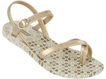 Ipanema Fashion Sandals Kids - beige/gold