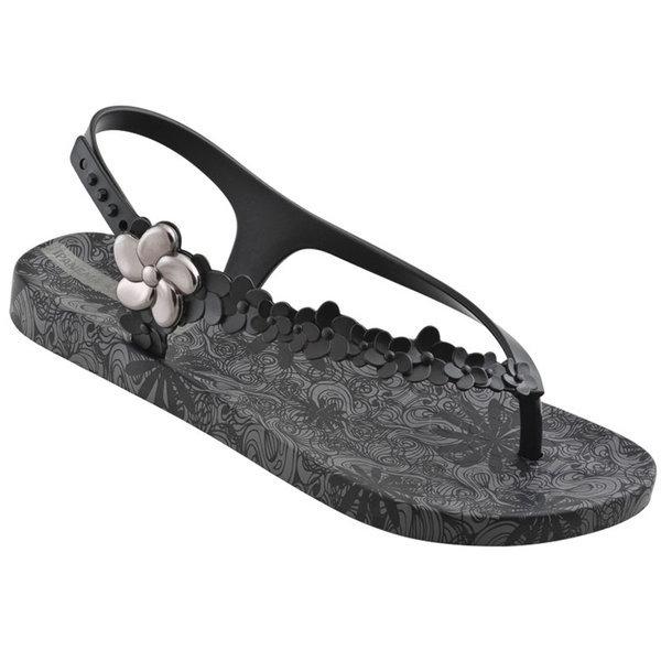Ipanema Gisele Bündchen Flowers Sandale - schwarz - Was Schickes 2245091aa9d8