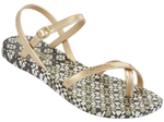 Ipanema Fashion Sandalen - braun/gold