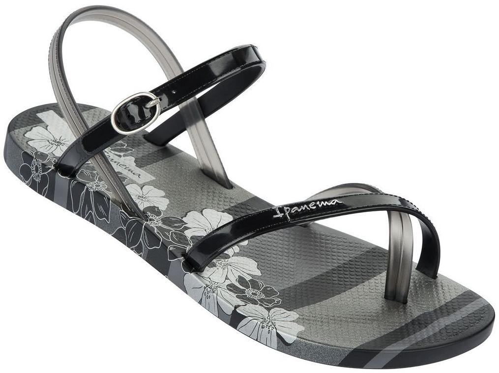 Ipanema Fashion Sandalen - Schwarz Silber - Was Schickes 0ec6a1c8742a