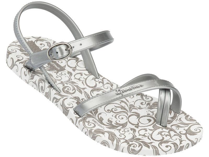 Ipanema Fashion Kindersandalen - Weiß Silber - Was Schickes 035a9b12db8a