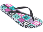 Ipanema Classic Temas thongs - white/black/pink