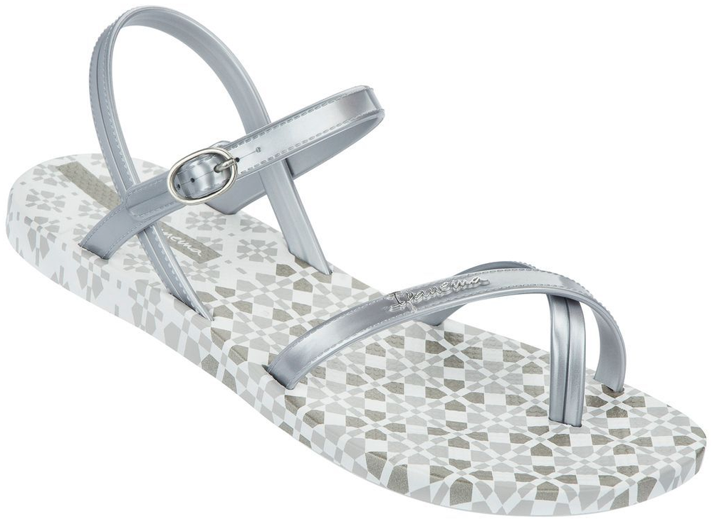 09ea8fb0af5531 Ipanema Fashion sandals - white silver - Was Schickes