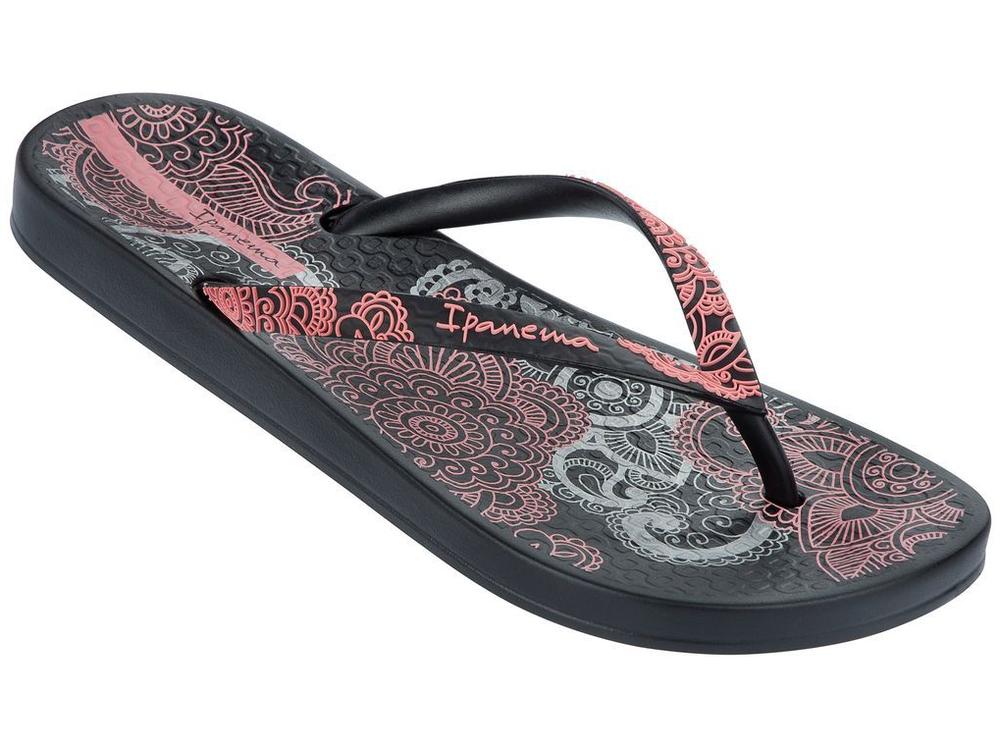 Ipanema Anatomic Lovely Sandale - Schwarz Rosé - Was Schickes 8d9c1267e275