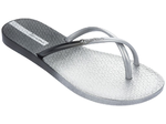 Ipanema Fit Summer thongs - silver/black