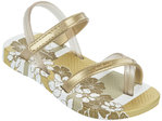 Ipanema Baby Sandal -white/gold