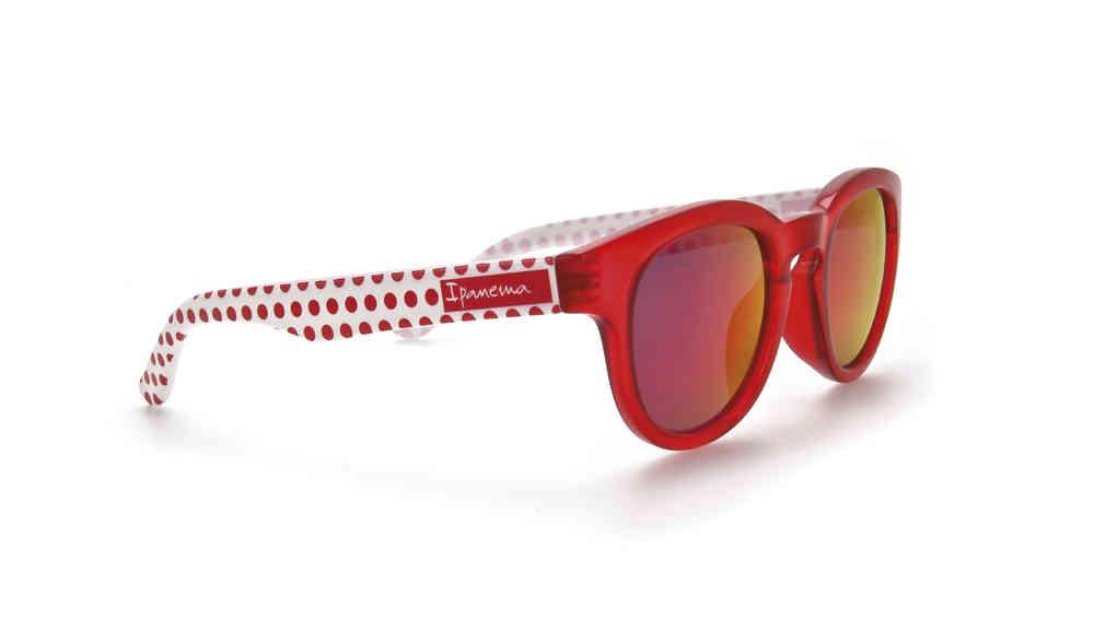 Ipanema Sonnenbrille - rot gepunktet - Was Schickes f5a8ee63e00e