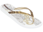 Ipanema Anatomic Lovely thongs - white/gold