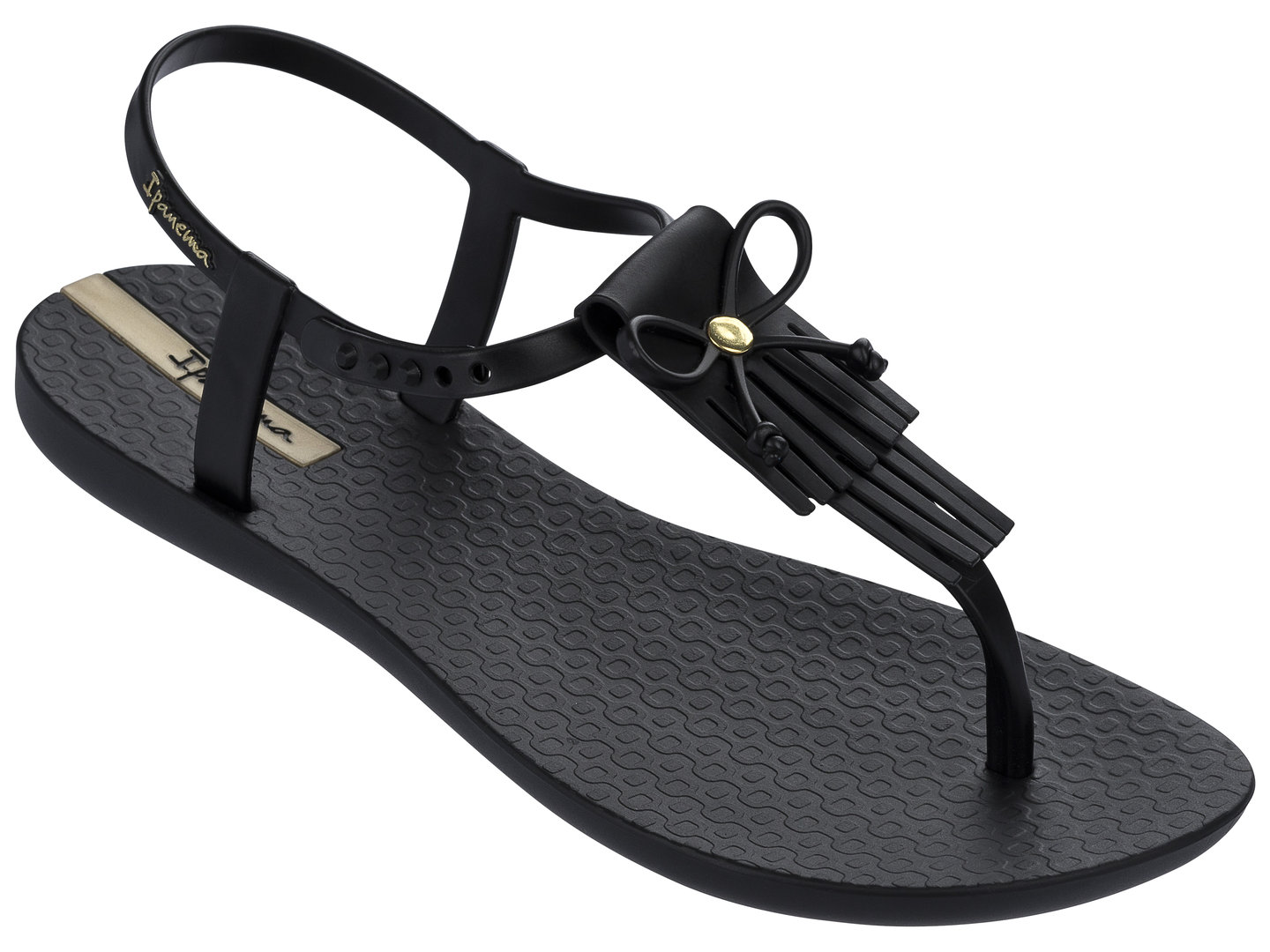 7721bd6c553935 Ipanema Charm sandals - black - Was Schickes