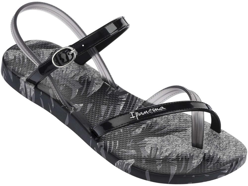 Ipanema Fashion Sandalen schwarz grau - Was Schickes 54afe4fd3dfc