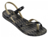 Ipanema Fashion Sandalen schwarz gold